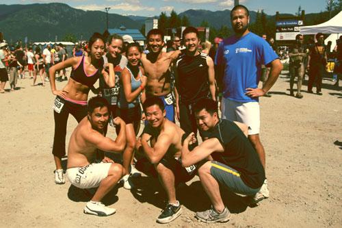 Warrior Dash Whistler 2011