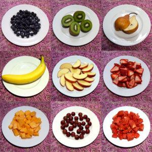 100 Calorie Servings of Fresh Fruit