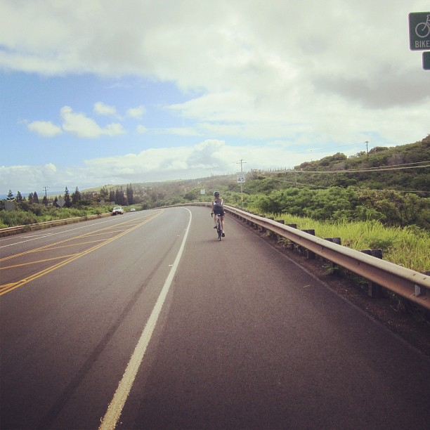 Biking in West Maui