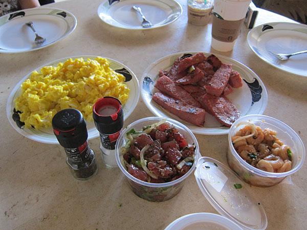 A very Hawaiian breakfast.