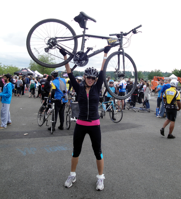 Katy @ Ride to Conquer Cancer 2011