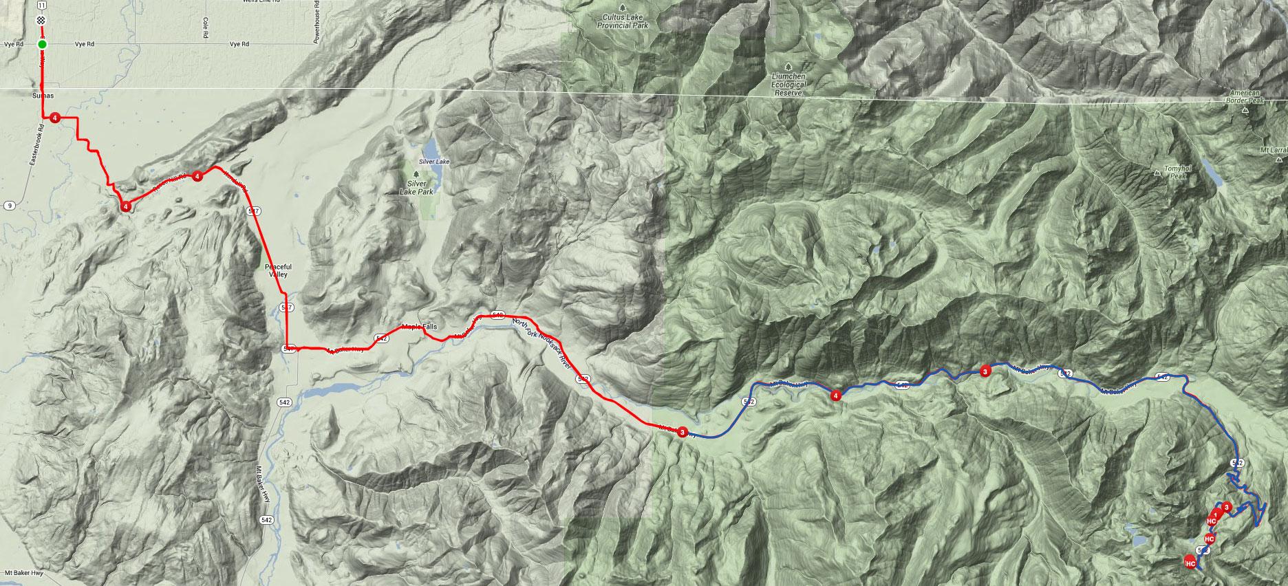 Strava | Mount Baker Ride