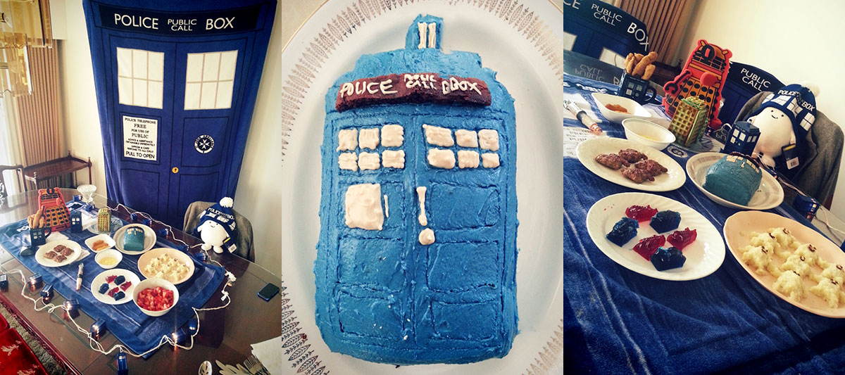 Dr. Who 50th Anniversary