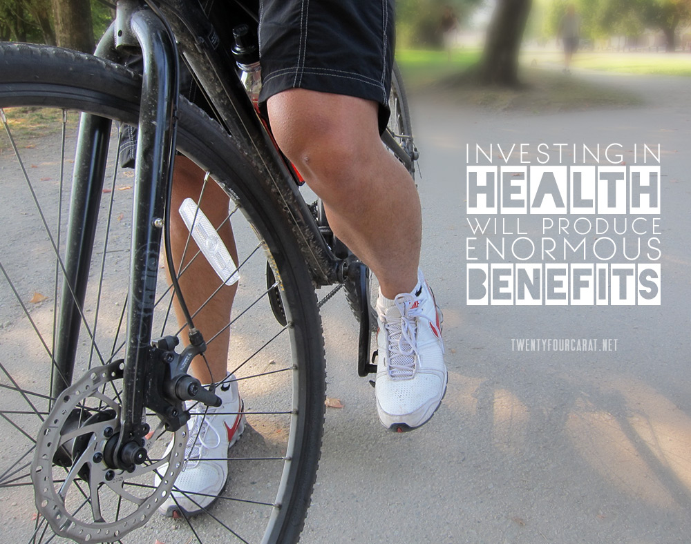 Investing in health will produce enormous benefits.