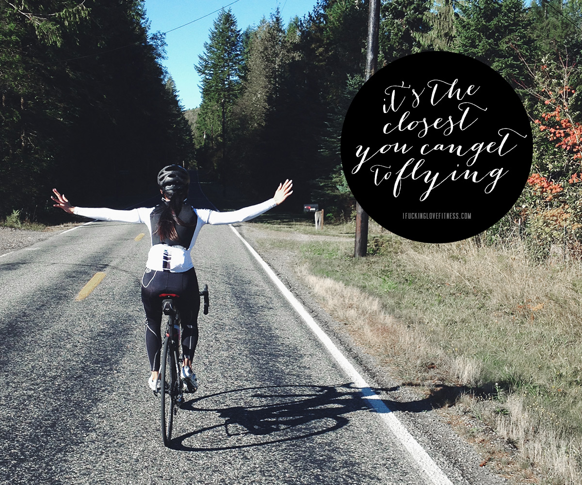 cycling + twentyfourcarat.net // cycling is the closest To Flying