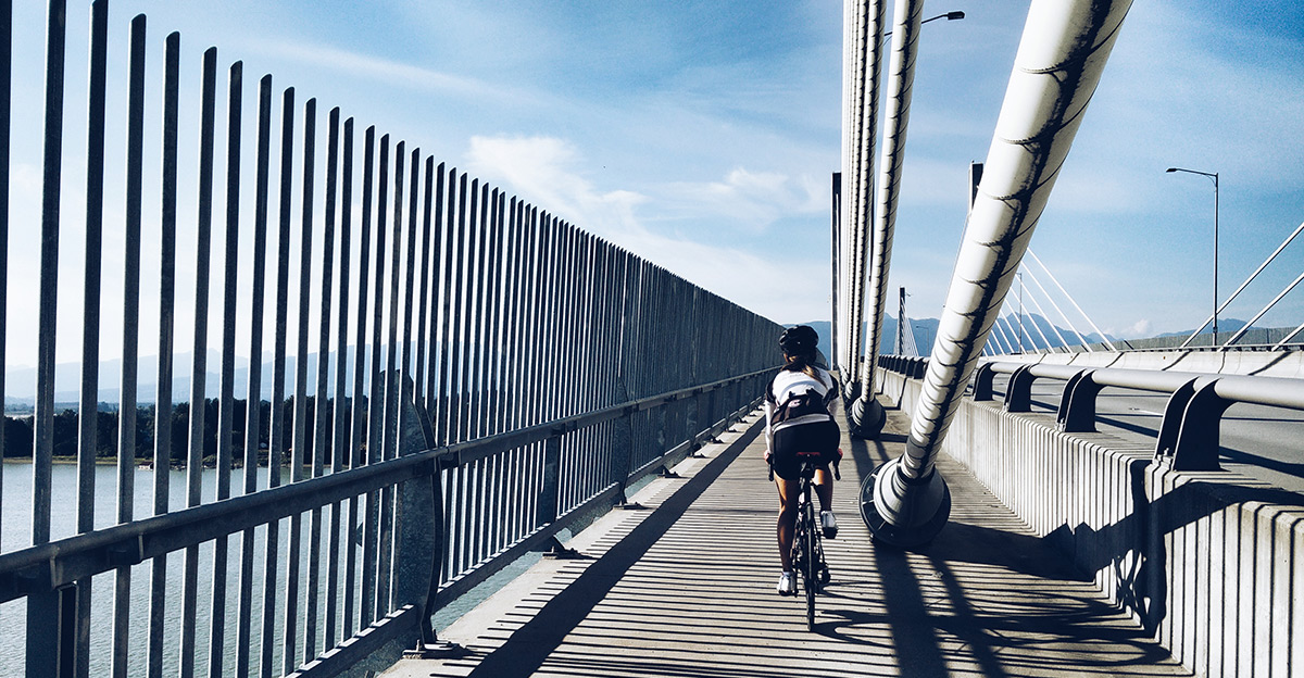 I Fucking Love Fitness | Cycling | Golden Ears Bridge