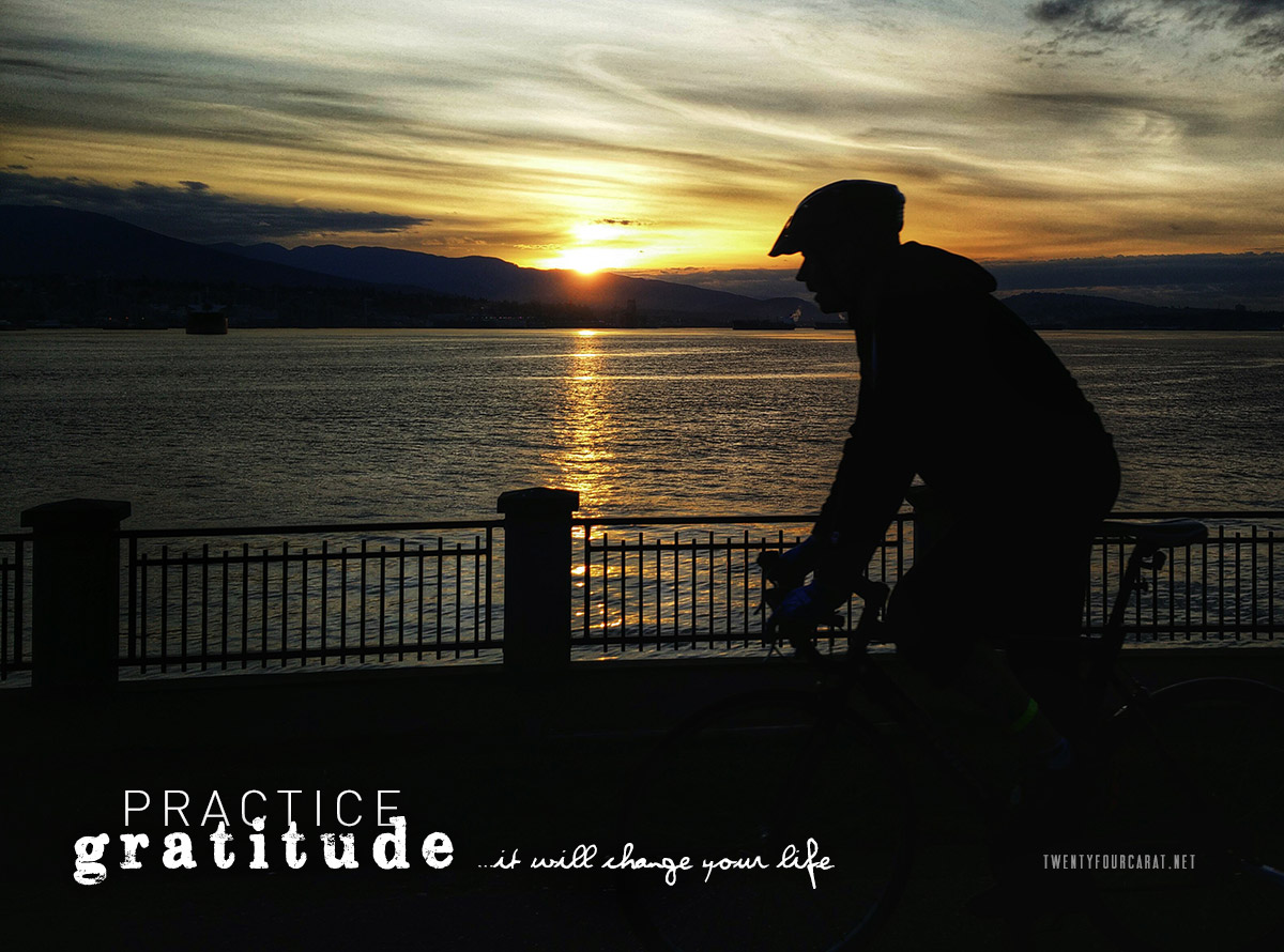 Practice Gratitude ...it will change your life.