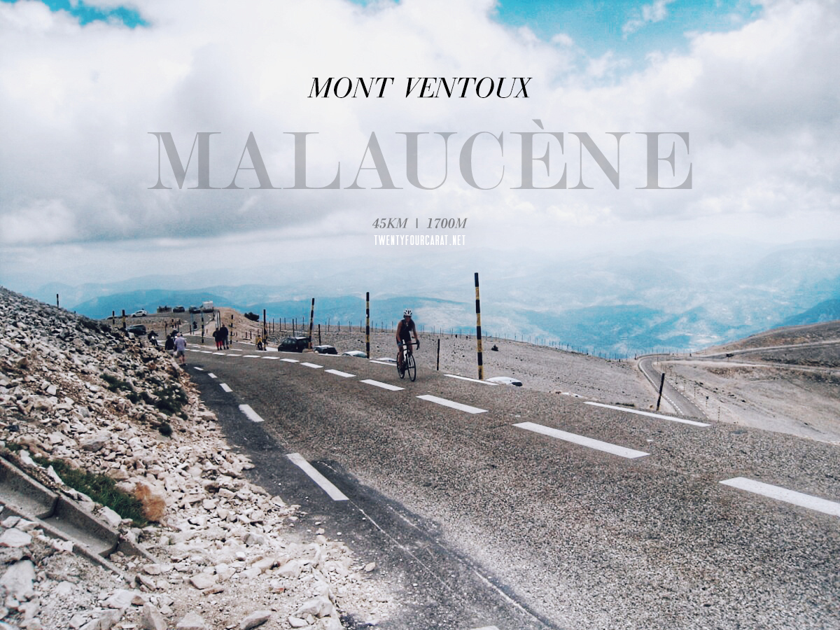 Mont Ventoux's Malaucène  Route | I Fucking Love Fitness | June 2014