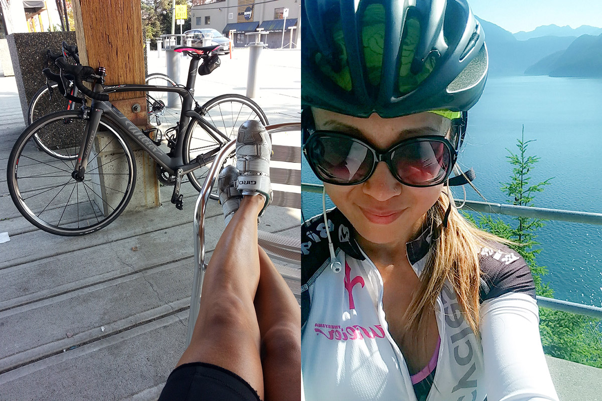 Dressing for Cycling: June in Vancouver