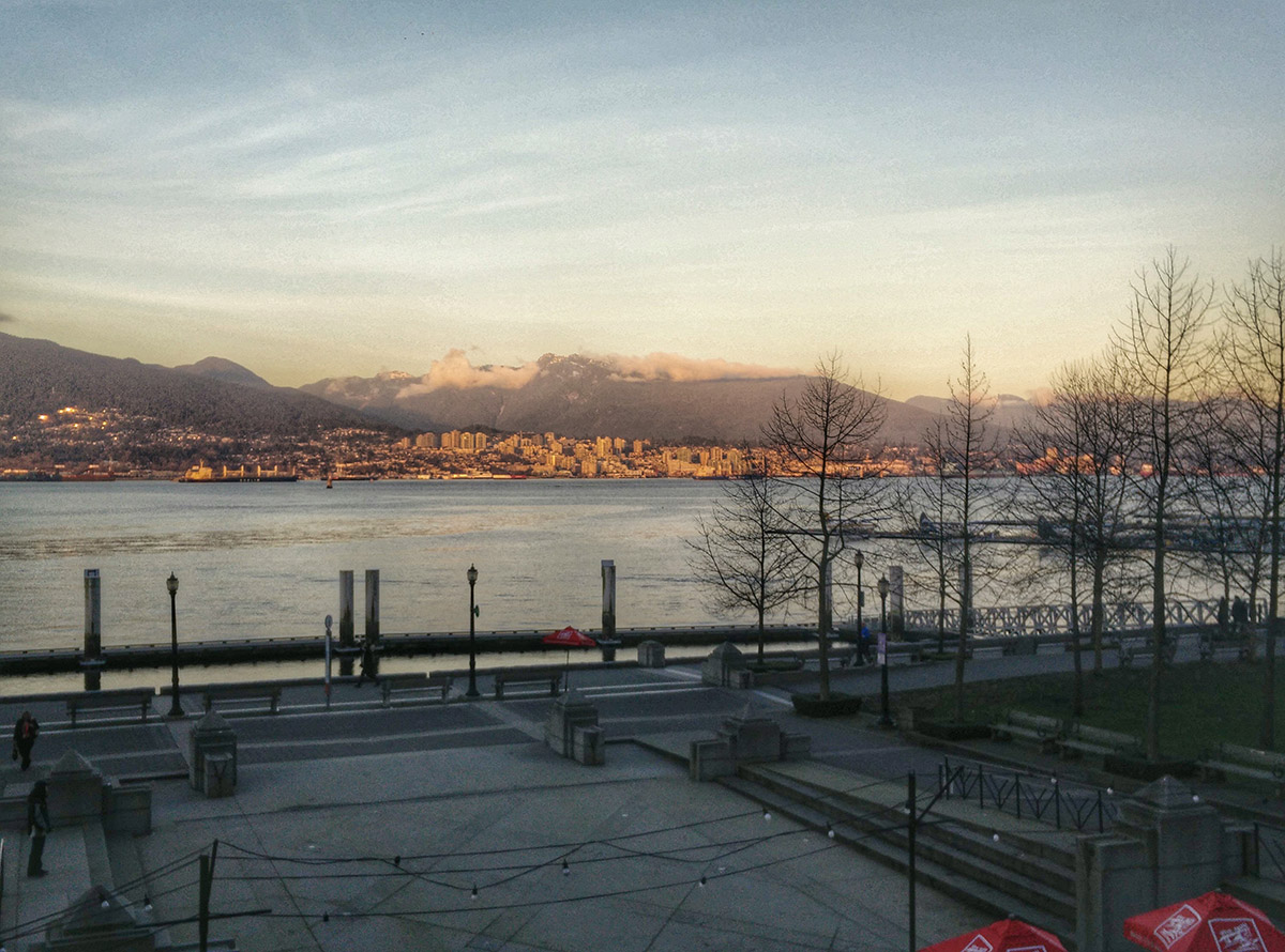 Vancouver Coal Harbour Sunset