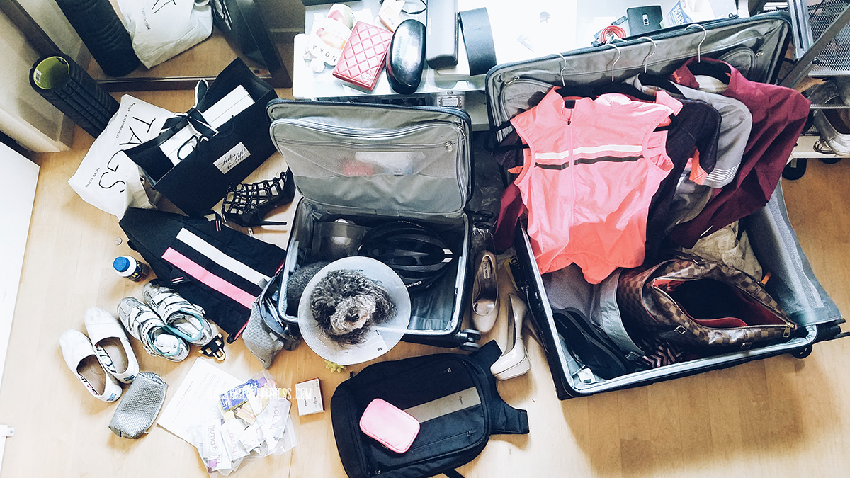 Packing for a bike tour in Japan // ifuckinglovefitness.com