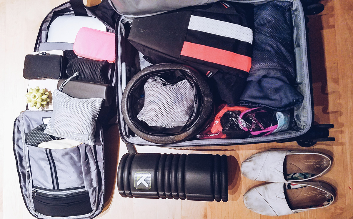 Packing probz for Japan // ifuckinglovefitness.com