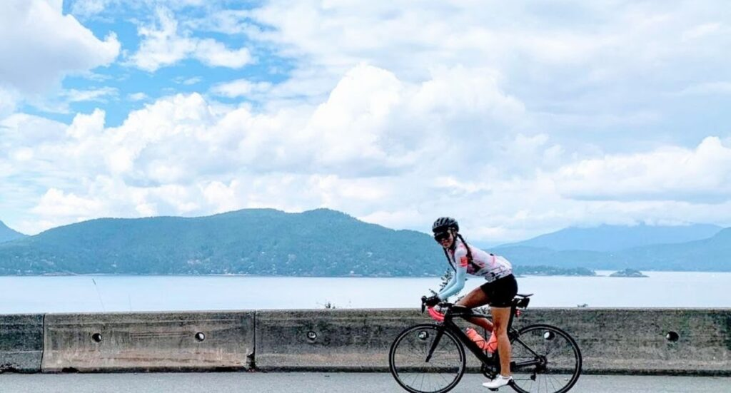 Cycling on the Sea to Sky