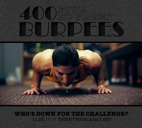 400 Burpee Challenge