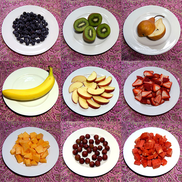 100 Calorie Servings of Fresh Fruit