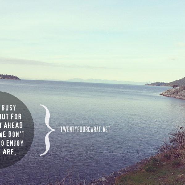 Benefits of Mindfulness to Fitness @ twentyfourcarat.net