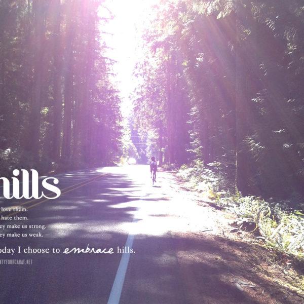 cycling & hills @ twentyfourcarat