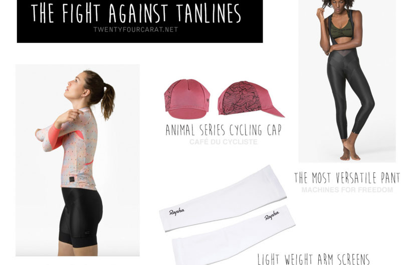 Cycling essentials to hide from the sun | twentyfourcarat.net