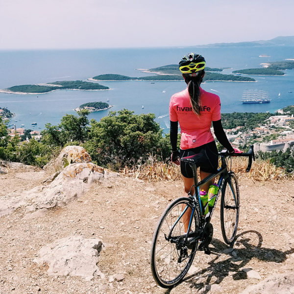 Hvar Life | Looking out into the town of Hvar